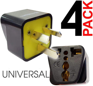 Krieger Plug Adapters Type I image of 4pack universal