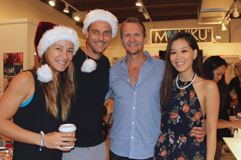 Founder Ehiku Rademacher, Ingo Rademacher, Sebastian Roche and Alicia Hannah