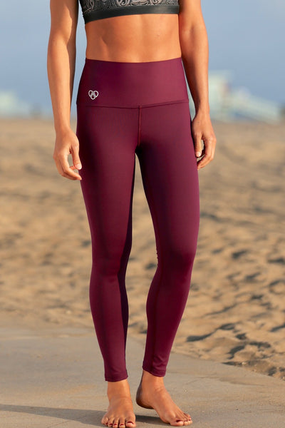 Honolulu Legging- WINE