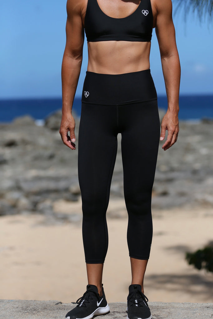 Honolulu Capri - BLACK