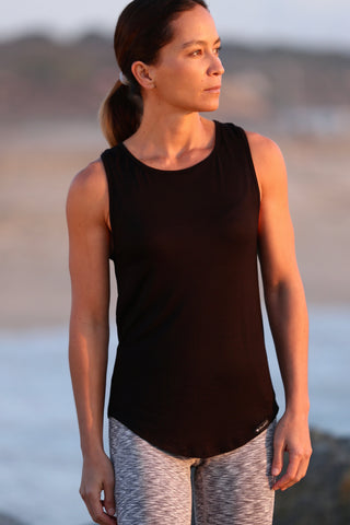 Twisted Tank- Black