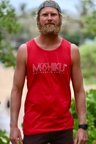 Men's Tank Top (Red)