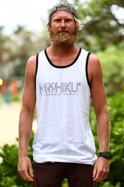 Men's Tank Top - White