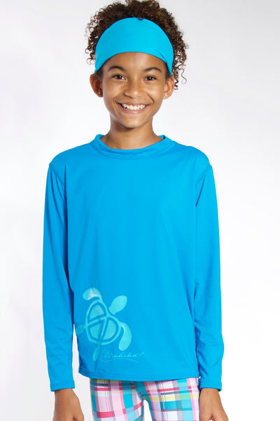 Junior & Toddler Rash Guard UPF50 (Blue)