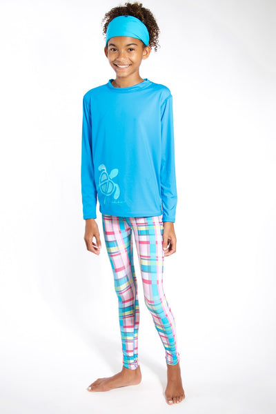 Kids Plaid Legging