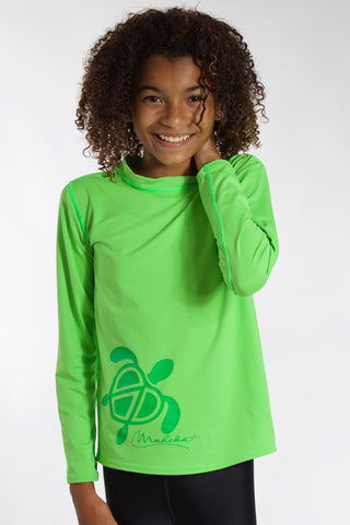 Junior & Toddler Rash Guard UPF50 (Green)