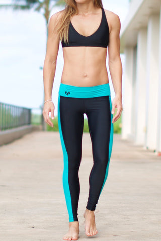 Mint YOGA Legging-racer