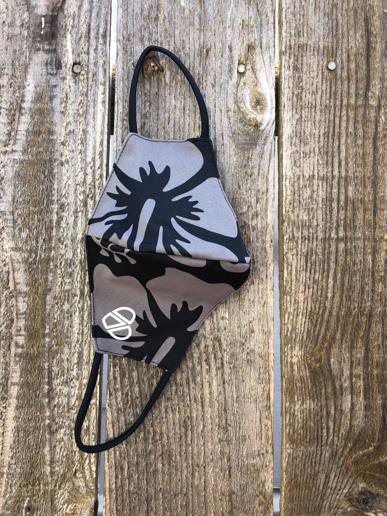 Aloha Grey Face mask