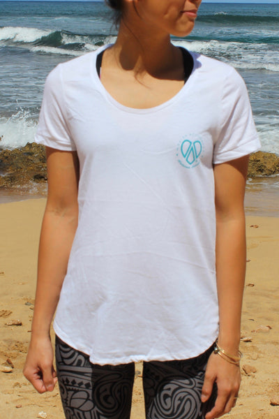 Women's Cotton T-Shirt (white)