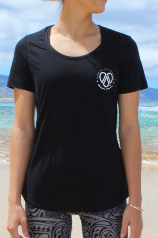 Women's Cotton T-Shirt (black)