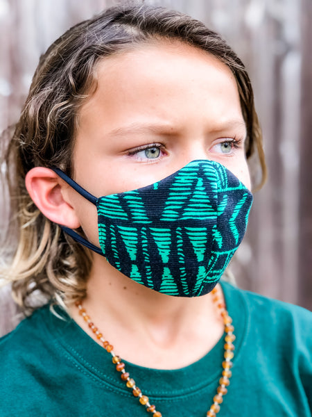 KIDS LUAU Face Mask