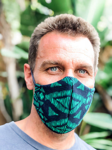 Luau Reversible Face Mask