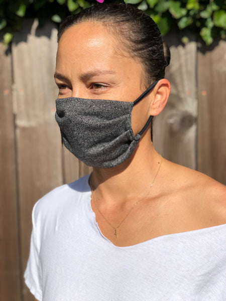 CHARCOAL POCKET Face Mask