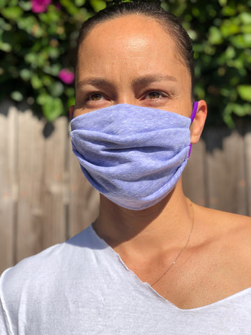 Lavender POCKET Face Mask