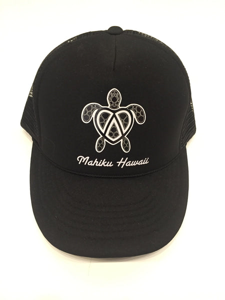 Mahiku Trucker Hat Turtle
