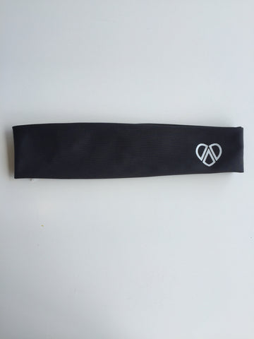 Charcoal Grey Mahiku Headband