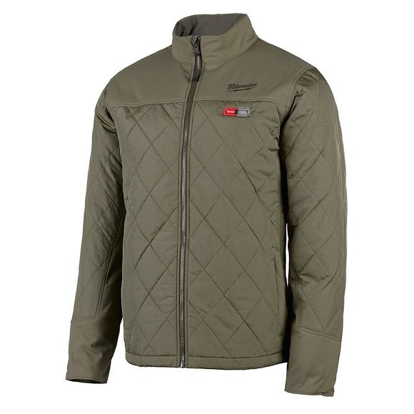 M12- XL OLIVE GREEN AXIS JACKET KIT - 203OG-21XL