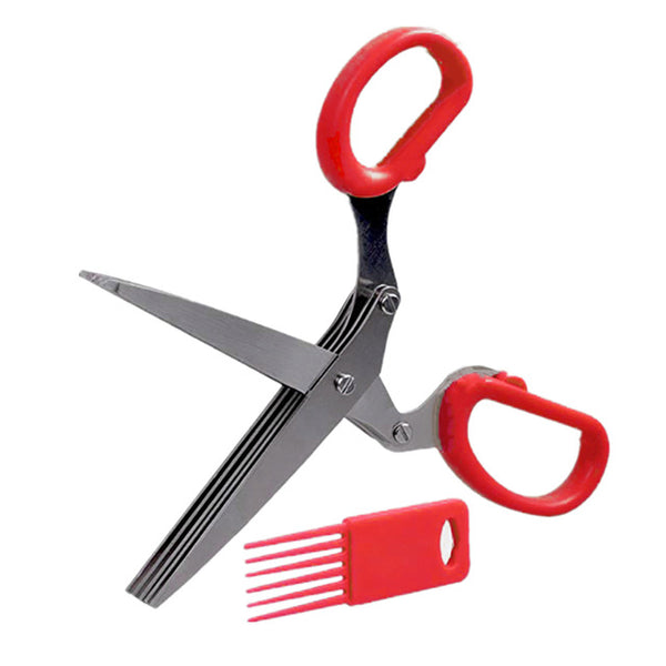 Quintuple Bladed Herb Scissors
