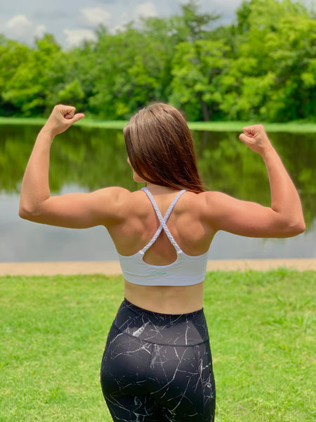 KIAVA Sports Bra Review, Battle Rope Bra Review, Perfect Bra for Cardio