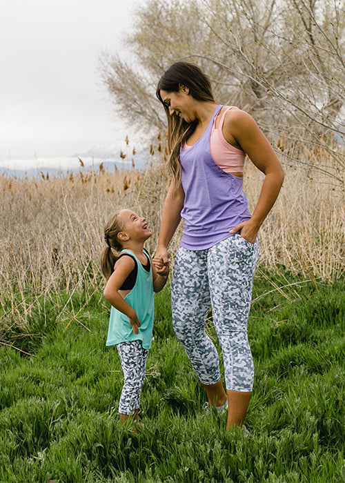 KIDS Pebble Capri - [Luxe Fabric]