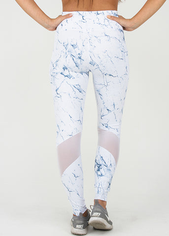 White Marble Legging 26