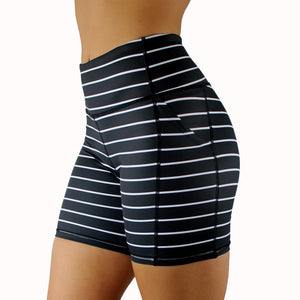 "Striped Shorts 5"" Inseam - [Luxe Fabric]"
