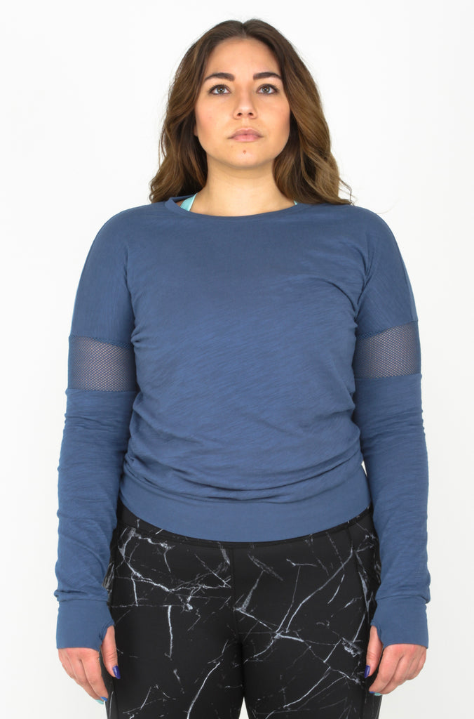 Blue Dolman Comfort Top {All Sales Final}