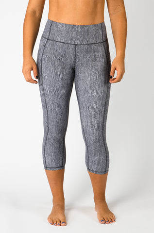 Herringbone Capri & Leggings - {Luxe Fabric}