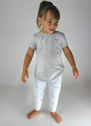 KIDS Marble Leggings [Luxe Fabric]