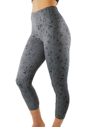 "Wildflower Legging 22"" - [Luxe Fabric]"