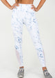 White Marble Capri & Legging  - [Luxe Fabric]