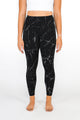 Black Marble Capri & Legging - [Luxe Fabric]