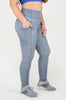 Grey Linen Capri & Legging - [Luxe Fabric]