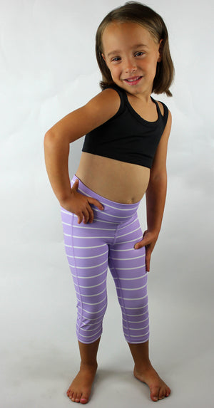 KIDS Striped Capri - [Luxe Fabric]