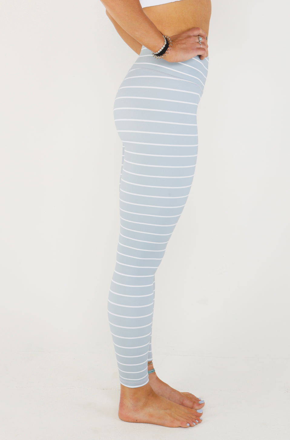 Striped Legging [Luxe Fabric]