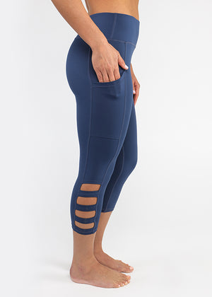 Cut Out Capri [New & Improved FIT]
