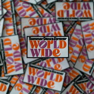 Patch Summer Dance Forever WORLDWIDE ( 5 for € 15)