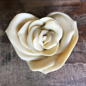 Rose Heart Soap