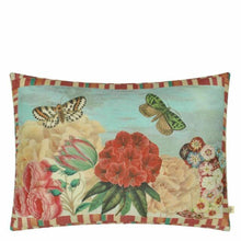 Load image into Gallery viewer, Garden Fantasy Fuchsia Pillow