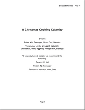 Load image into Gallery viewer, A Christmas Cooking Calamity