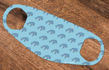 Load image into Gallery viewer, Set of 3 Reusable Face Coverings - Whales, birds & skulls