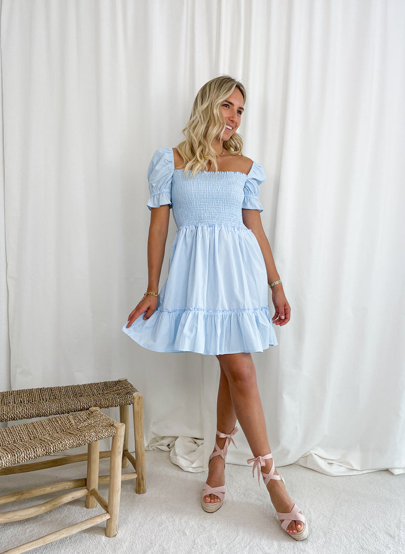 Date Time Dress - White