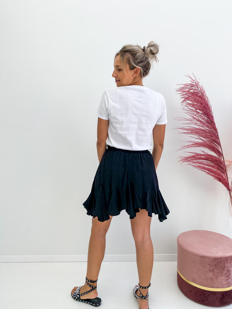 Liv Black Skirt