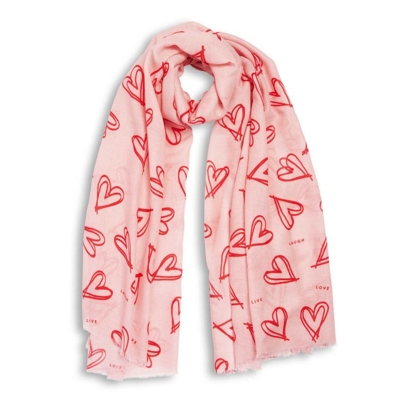 WRAPPED UP IN LOVE Scarf