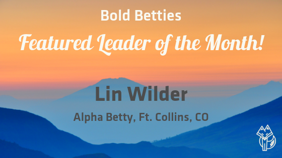 Featured Leader of March: Lin Wilder