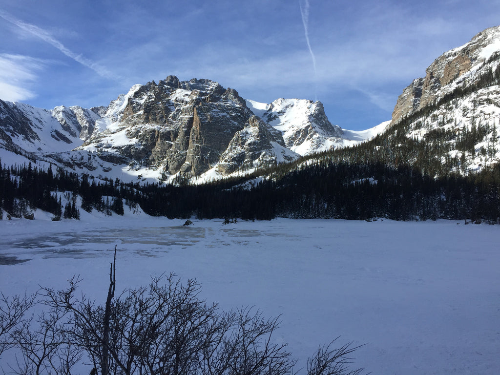 Loch Vale, Rocky Mountain National Park, January 2017