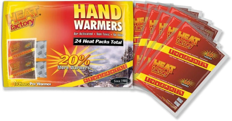 Heat Factory Hand Warmers Bonus 12-Pack