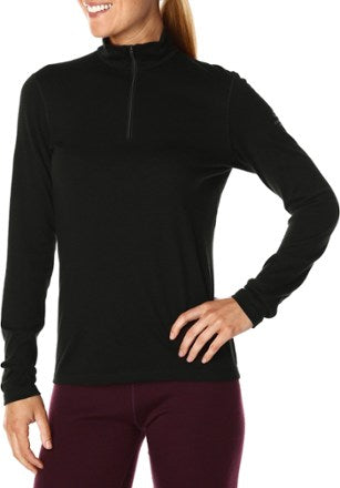 Icebreaker Oasis Crew Long Underwear Top - Women's