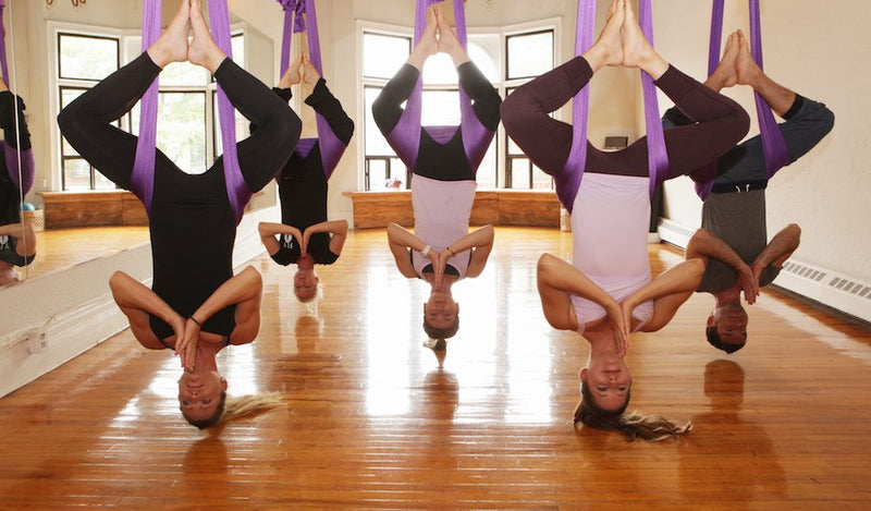 Bold Betties SLC Aerial Yoga June 3, 2017