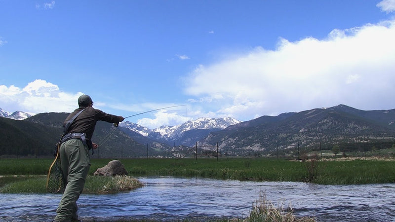 Rocky Mountain National Park, CO: Guided Fly Fishing Weekend - September 21-23, 2018